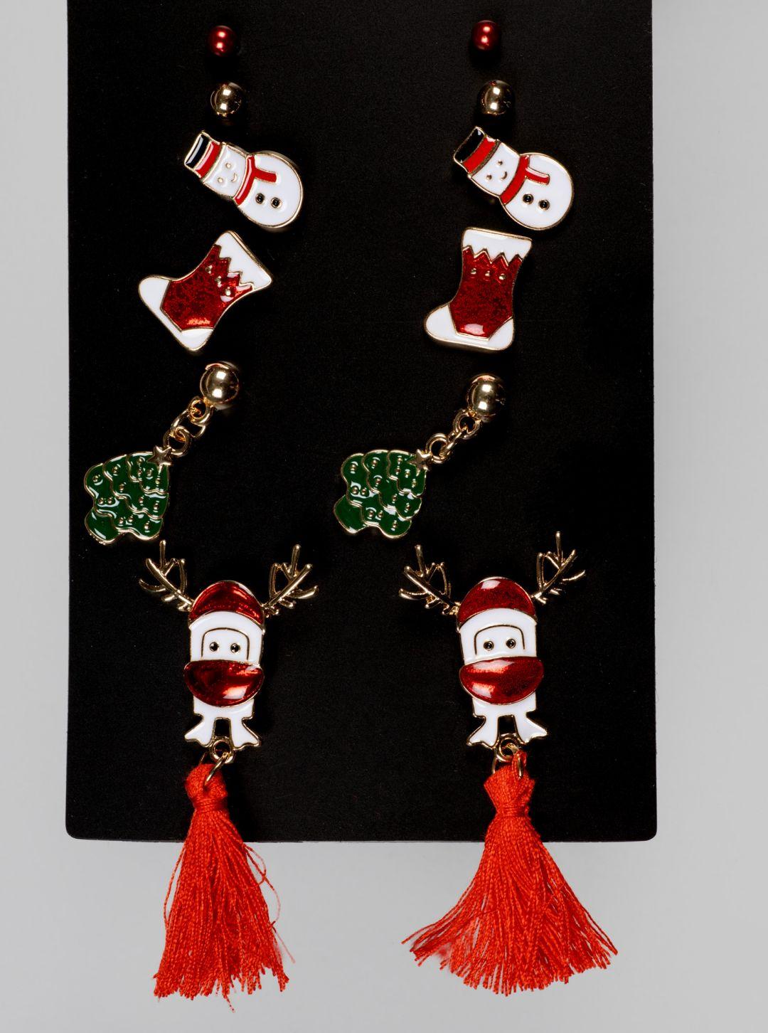Set orecchini di Natale