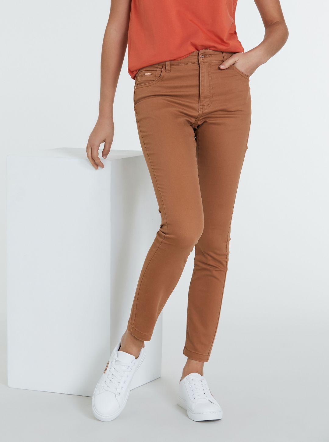 Jeans colorato push-up super skinny