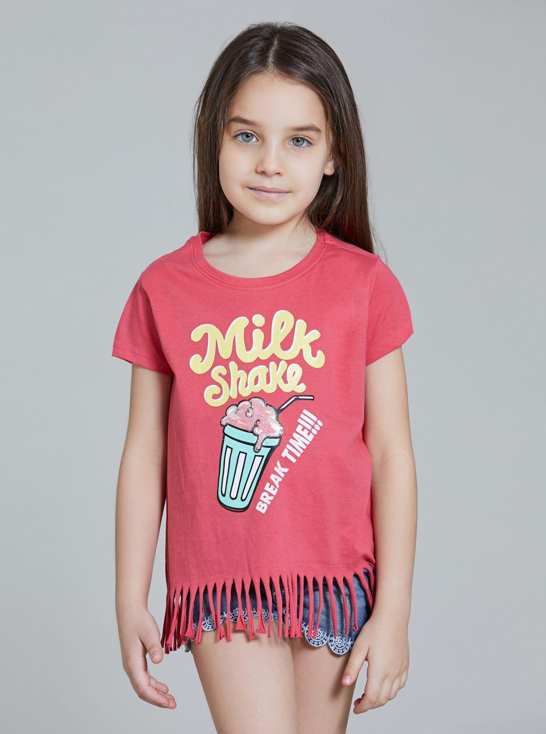 T-Shirt con Frange