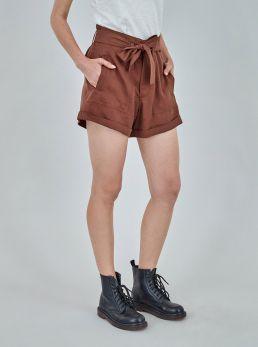 Shorts con fusciacca