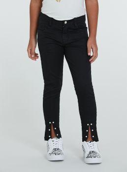 Pantaloni con applicazioni