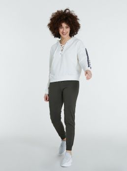 Pantaloni sportivi con elastico