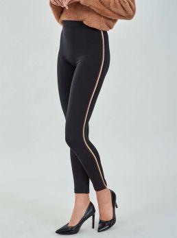Leggings con bande laterali