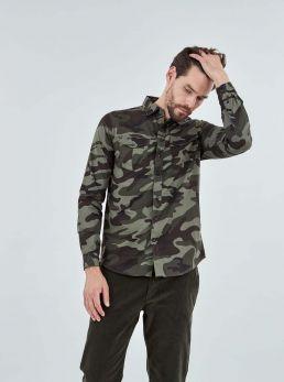 Camicia camouflage