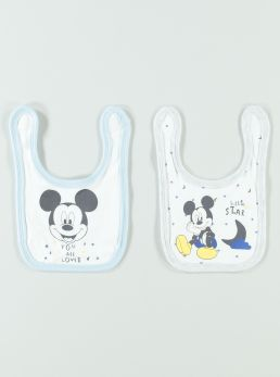 Bavetta 2 pack Mickey Mouse