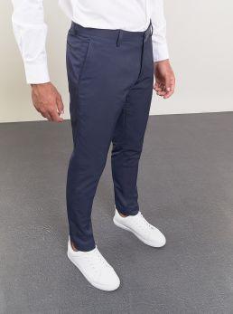 Pantaloni modello classico blu