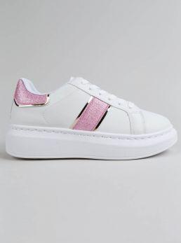 Sneakers dettagli glitter
