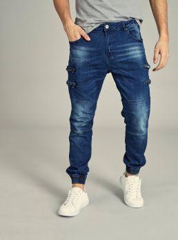 Jeans con zip