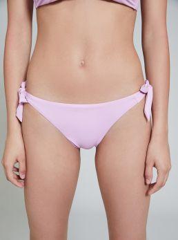 Slip bikini con dettagli laterali