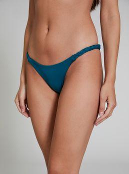 Slip bikini con intreccio ai lati