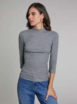 T-Shirt mezzocollo