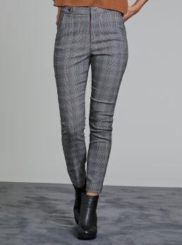 Pantaloni fantasia check