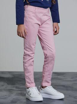 Pantaloni con elastico in vita
