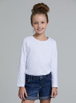 T-shirt basic con pinces