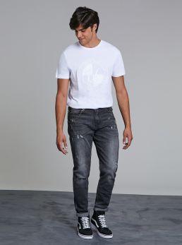 Jeans denim scuro