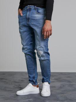 Jeans uomo con strappi