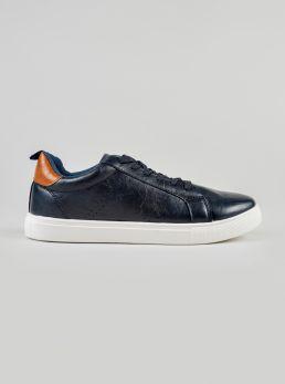 Sneakers con dettagli traforati