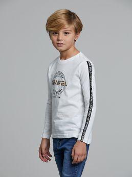 T-Shirt con bande
