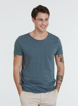 T-Shirt in cotone taglio vivo
