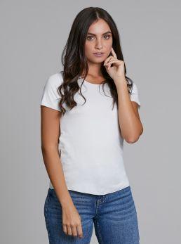 T-Shirt con bordi