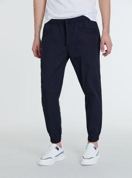 Pantaloni in cotone con elastico
