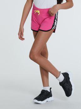 Shorts con bande laterali