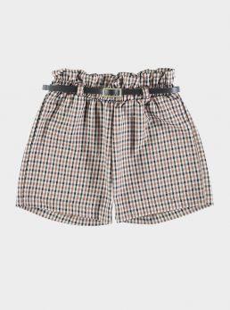 Shorts quadretti