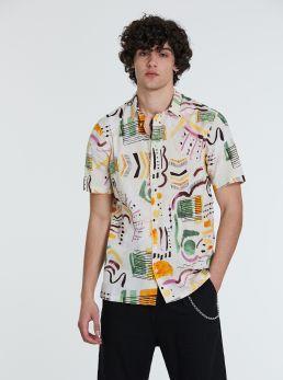Camicia con stampe