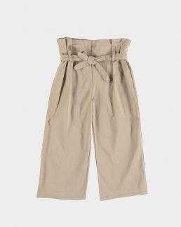 Pantaloni culotte vita alta