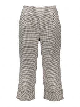 Pantaloni culotte a quadri