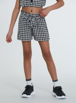Shorts micro quadri